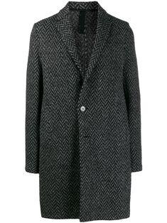 HARRIS WHARF LONDON HARRIS WHARF LONDON CLASSIC SINGLE-BREASTED COAT - 黑色. #harriswharflondon #cloth