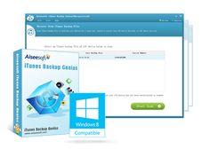 Aiseesoft iTunes Backup Genius – 100% Discount Offer