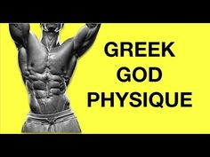 Kinobody Advanced Greek God Workout Program (KEY LIFTS) - YouTube Jeffree Star, Greek God Program, Kinobody Workout, Post Workout Smoothie, Coach Quotes, Muscle Building Workouts, Workout Aesthetic, Fit Board Workouts