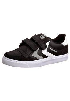 Hummel  STADIL LOW - Schuh - black/white/grey