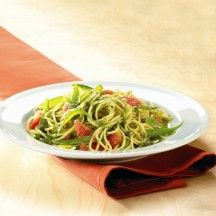 Weight Watchers Recepten - Spaghetti met Thaise pesto