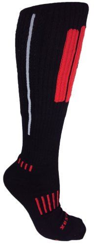 MOXY Socks Knee-High Black with Red and Grey Performance Deadlift APeX XFit Socks by MOXY Socks, http://www.amazon.com/dp/B008SH6BXC/ref=cm_sw_r_pi_dp_ze7qrb06F3W1F