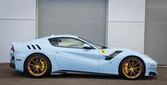 This Ferrari Takes The Whole 'Tour De France' Thing Very Seriously Ferrari 458, Maserati, Lamborghini, Automobile, Ferrari F12berlinetta, F12 Berlinetta, Car Racer, Jaguar Xk, Sport Cars