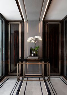The Art of Flight - Blainey North Hallway Designs, Foyer Design, Lobby Design, Entrance Design, Home Room Design, Küchen Design, Ceiling Design, Living Room Designs, Hallway Ideas