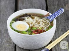Ramen | AniaGotuje.pl Ramen, Asian, Beverages, Food And Drink, Health Fitness, Tasty, Dinner, Cooking, Ethnic Recipes