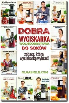 DOBRA WYCISKARKA Angel Juicer, Polish Recipes, Chili Recipes, Kimchi, Pho, Smoothies, Food And Drink, Menu, Gluten Free