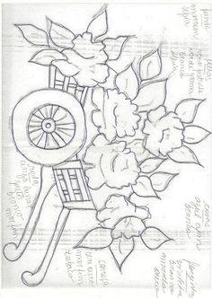 riscos de flores - catia amelia Abrunhoza - Álbuns da web do Picasa