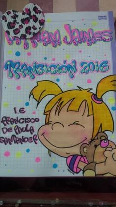 Cuaderno Marcado My Notebook, Letters And Numbers, Twine, Back To School, Origami, Pikachu, Diy And Crafts, Doodles, Snoopy