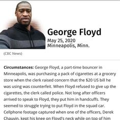 Floyd May, Minneapolis, Grocery Store, Acting, Culture, Black, Black People
