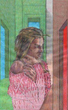 """""""Studio sulla coscienza n°38. 2015 (approccio alla mente di Seurat)"""" con Francy Torino"""
