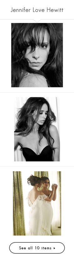 """""""Jennifer Love Hewitt"""" by amarie104 ❤ liked on Polyvore featuring tops"""