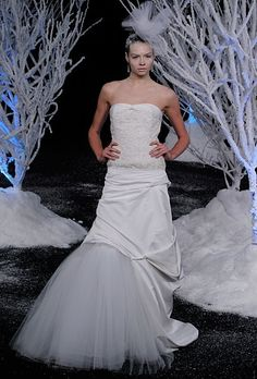 Winter Wedding Dresses by Kelly , via Behance