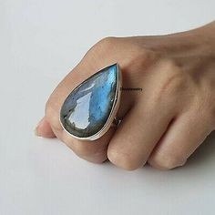 Labradorite Ring Solid 925 Sterling Silver Ring Band Meditation Ring Size rxx 01 | eBay Silver Jewelry, Silver Rings, Meditation Rings, Labradorite Ring, Gemstone Rings, Band, Sterling Silver, Detail, Handmade