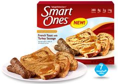 French Toast with Turkey Sausage - Weight Watchers® Smart Ones®