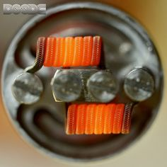 Staggered Fuse Clapton 24g #AN80 (AnarchistWire)/36g N80 Dual 7 wrap - 3mm = 0.12Ω  #vapepornbuild #Padgram