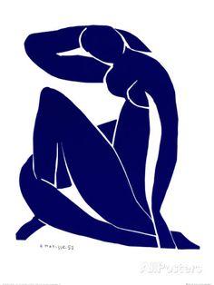 Nu bleu II par Henri Matisse