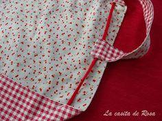 La casita de Rosa: Tutorial bolsa de costuras Couture, Sewing, Handmade, Ideas Para, Bag, Fashion, Scrappy Quilts, Pink, Craft