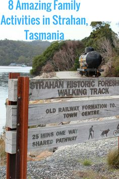 This little town on the remote west coast of Tasmania is full of surprises. Here are 8 amazing family activities that you can enjoy in Strahan (we didn't get time to do all of them so we will definitely be back). Perth, Brisbane, Melbourne, Sydney, Tasmania Road Trip, Tasmania Travel, Family Vacation Destinations, Travel Destinations, Holiday Destinations