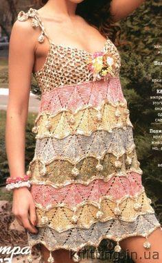 dress knit and crochet