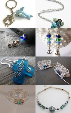 Blue of the ocean!!!! by Ashley Marie Bowman on Etsy--Pinned with TreasuryPin.com