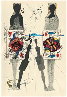 Dalí, Alicia en el país de las maravillas