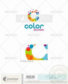 Buy Print & Design Logo - 1615 by pixellogo on GraphicRiver. An excellent logo template highly suitable for print, design, and photography businesses. Design Logo, Business Logo Design, Logo Design Template, Logo Templates, Icon Design, Print Design, Logan, Industry Logo, Portfolio Logo