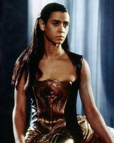 stargate movie jaye davidson - View of copper leather corset. Jaye Davidson, Stargate Movie, Vikings, Best Sci Fi, Film Movie, Movies, Sci Fi Shows, Stargate Atlantis, Male Poses