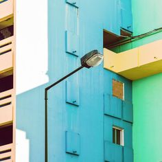 Stunning Architecture Photography by Matthias Heiderich Geometric Photography, Contemporary Photography, Urban Photography, Colour Architecture, Unique Buildings, Complimentary Colors, Urban Landscape, Color Inspiration, Photo Art