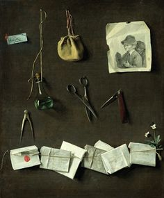 Trompe l'Oeil, c.1785 (oil on canvas) by Louis Boilly Leopold (French 1761-1845)