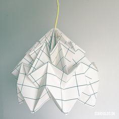 Origami And Quilling, Diy Origami, Origami Lampshade, Paper Factory, Interior Design Classes, Artwork For Home, Paper Light, Paper Folding, Diy Interior