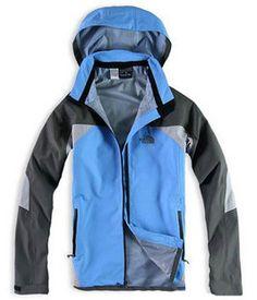 snug North Face Mens Windstopper Soft Shell Blue