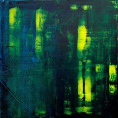 David Muddyman - Glassworks #2 (Acrylic on canvas 61cm x 61cm