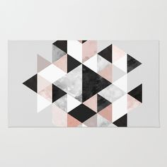 Graphic+202+Rug+by+Mareike+Böhmer+Graphics+-+$28.00