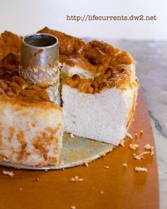 Classic Angel Food Cake from scratch