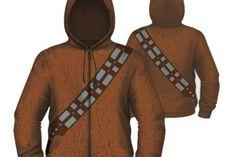 Zeige wahre Größe und schlüpfe in den stilechen Hoodie von Star Wars und werde zum Möter, ähhhh, Chewbacca! Jetzt fehlt nur noch Meister Yoda auf deiner Schulter und du kannst abtauchen in die Wälder von Kashyyyk.   Mehr Infos unter http://www.deshalb-bin-ich-pleite.de/star-wars-chewbacca-hoodie-furry-costume/exit