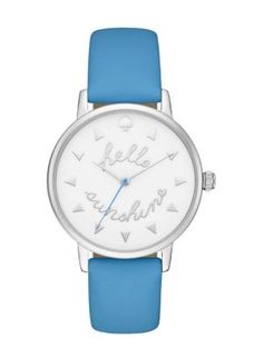 hello sunshine metro watch - Kate Spade New York