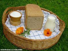 Pravý kváskový chléb - recept pro domácí pekárny I Love Food, Bread Recipes, Camembert Cheese, Picnic, Dairy, Basket, Bakery Recipes, Picnics