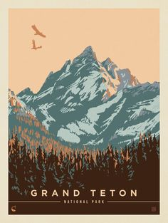 Skateboarding national park posters, national park tattoo, b… American National Parks, National Parks Map, Sequoia National Park, Grand Teton National Park, Vintage National Park Posters, Poster Retro, Poster Art, Design Poster, Poster Prints