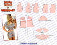 Dress Sewing Patterns, Blouse Patterns, Clothing Patterns, Fashion Sewing, Diy Fashion, Sewing Clothes, Diy Clothes, Pattern Draping, Mode Abaya