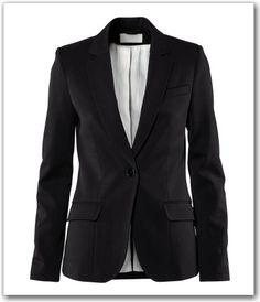 Black blazer from H & M
