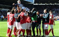 Farewell Pat Rice and well done #Arsenal on finishing 3rd this season