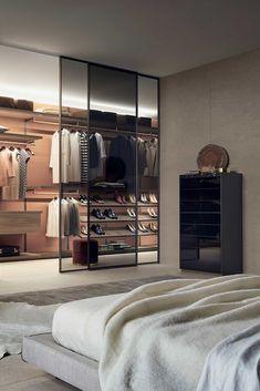 Walk In Closet Design, Bedroom Closet Design, Home Room Design, Closet Designs, Home Decor Bedroom, House Design, Stairs In Living Room, Dressing Room Design, Luxury Closet