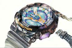 기초디자인(손목시계 개체묘사) : 네이버 블로그