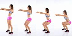 Get your sexiest body ever without,crunches,cardio,or ever setting foot in a gym Yoga Gym, Yoga Fitness, Fitness Tips, Buttocks Workout, Butt Workout, How To Do Squats, 30 Day Squat, Butt Challenges, Body Challenge