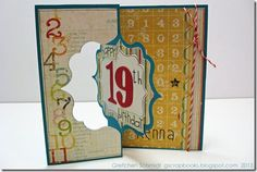 Sizzix flip card tutorial