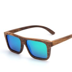 Totalglasses Square Zebra Wood Sunglasses Men POLARIZED Flash Mirror Fashion Glasses Brand Designer Women Vintage Oculos  => Save up to 60% and Free Shipping => Order Now!  #fashion #product #Bags #diy #homemade