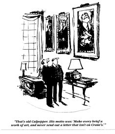 A vintage promotional illustration by the New Yorker's Bob Weber, which was part of a series of advertisements geared toward law firms.