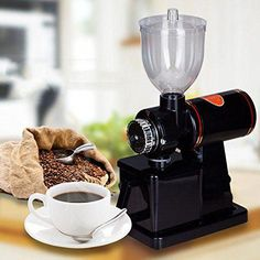 Electric Coffee Grinder Machine _Coffee Grinder _ Coffee Been Grinder Maker Grinding Coffee Beans, Types Of Coffee Beans, Coffee Geek, Coffee Shop, What Is A Latte, Coffee Pot Cleaning, Home Coffee Machines, Coffee Industry, Espresso Shot