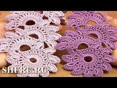 Beautiful Crochet Lace Patterns  Урок 12 Вязание ленты в технике ленточного кружева - YouTube