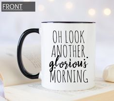 Items similar to Oh look another glorious morning custom coffee mug from hocus pocus movie. Personalized Halloween gift mug. on Etsy Halloween Gifts, Fall Halloween, Hocus Pocus Movie, Handmade Design, Gifts In A Mug, Coffee Mugs, Etsy, Coffee Cups, Coffeecup